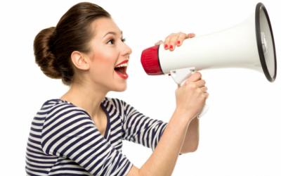 Pour se faire connaître auprès du plus grand nombre, 2 solutions : le mégaphone et ceci…