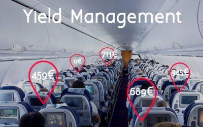 Le Yield Management ou l'art de la tarification dynamique et intelligente (initiation)