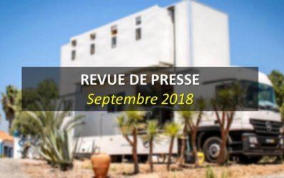 Revue de Presse Septembre 2018