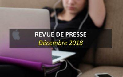 Revue de Presse Décembre 2018