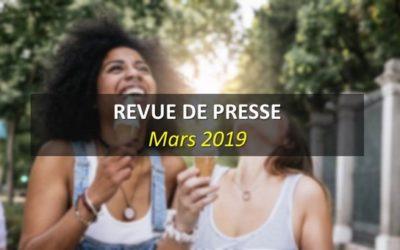 Revue de Presse Mars 2019