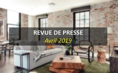Revue de Presse Avril 2019