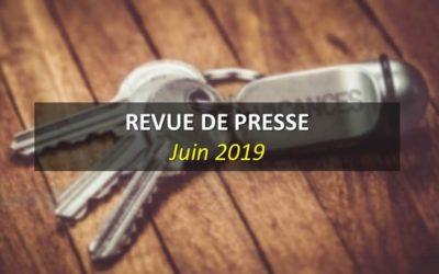 Revue de Presse Juin 2019