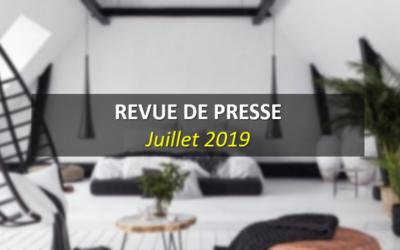 Revue de Presse Juillet 2019
