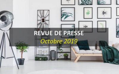 Revue de Presse Octobre 2019