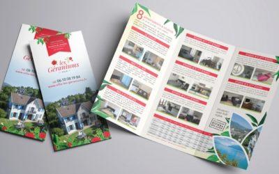 Créez votre plaquette commerciale ou votre flyer pour booster votre publicité hors web !