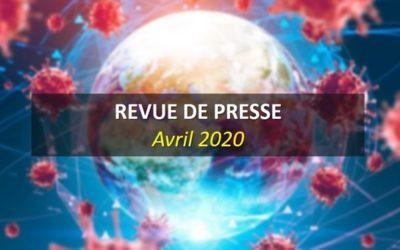 Revue de Presse Avril 2020