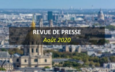 Revue de Presse Août 2020