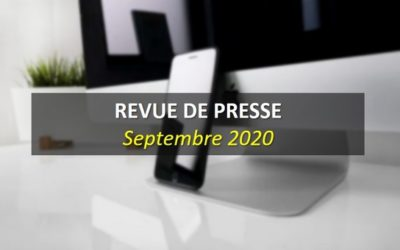 Revue de Presse Septembre 2020