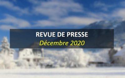 Revue de Presse Décembre 2020