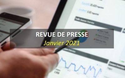 Revue de Presse Janvier 2021