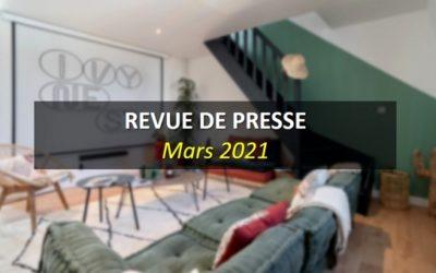 Revue de Presse Mars 2021