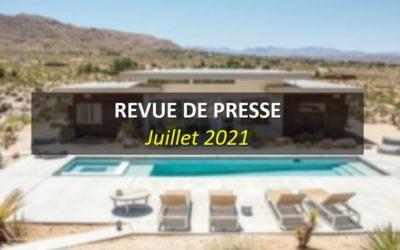 Revue de Presse Juillet 2021